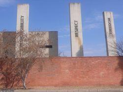 Extérieur du Musée Nelson Mandela