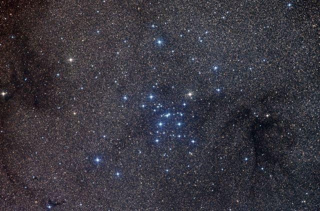 M7, l'un des groupes d'étoiles les plus visibles dans le ciel.