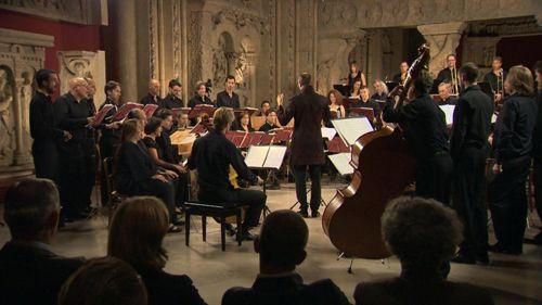 Enregistrement de la Messe d'Alessandro Striggio par Le Concert Spirituel sous la Direction d'Hervé Niquet