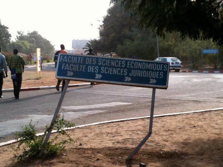 L'université Cheikh Anta Diop à Dakar