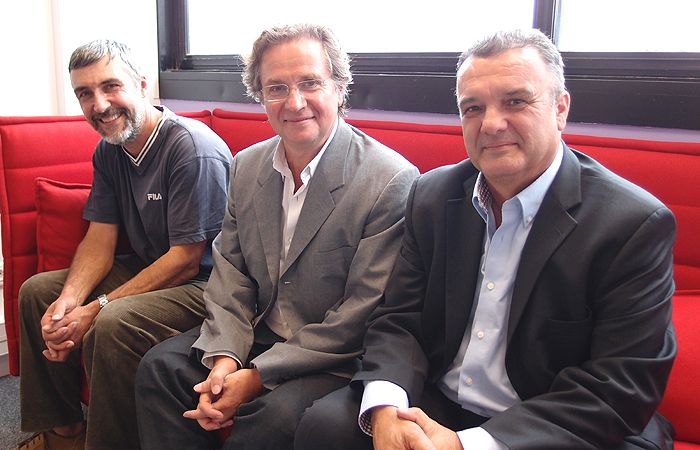 Didier Boursier, Jean-Claude Jaillette et Michel Prugue