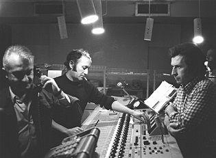 Jean Garretto, Yann Paranthoën et Pierre Codou en régie (1972)