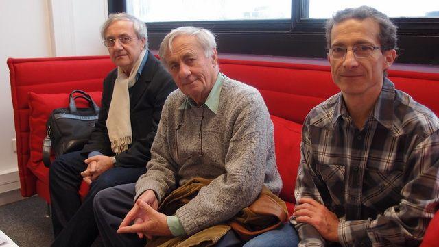 Daniel Boy, Jacques Testart et Jean-Christophe Pagès