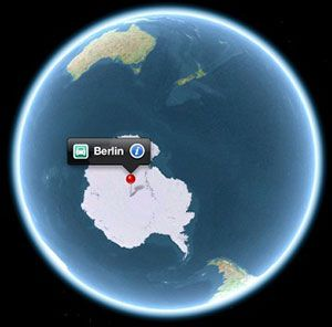 Berlin selon Apple Maps