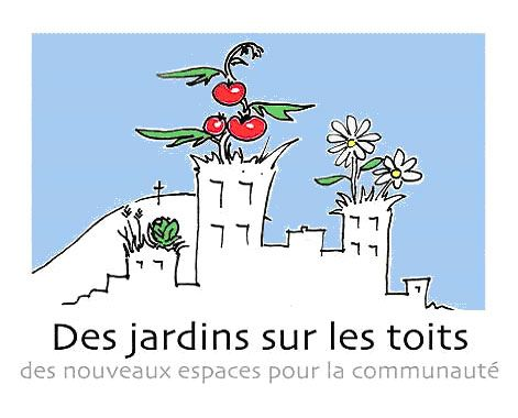 Des jardins sur les toits