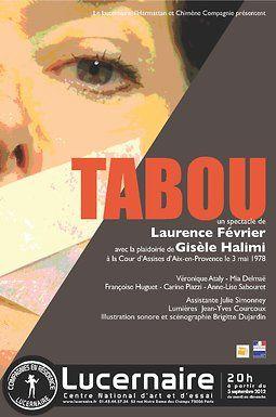 Affiche de tabou