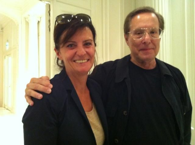 William Friedkin avec Christine Masson