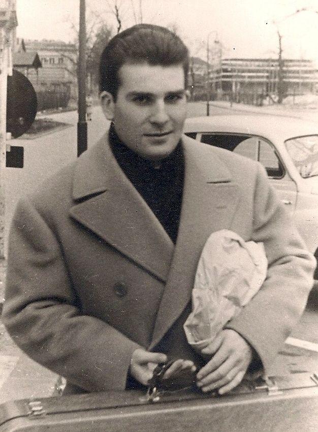 Christian Ferras, violoniste, en 1960