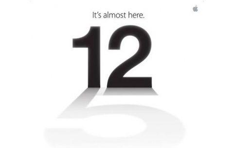 L'invitation d'Apple