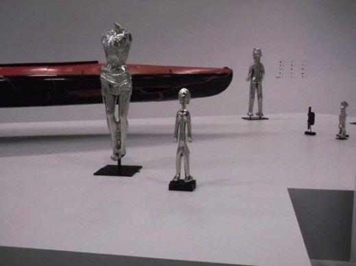 Bertrand Lavier, la salle Impressions d'Afrique