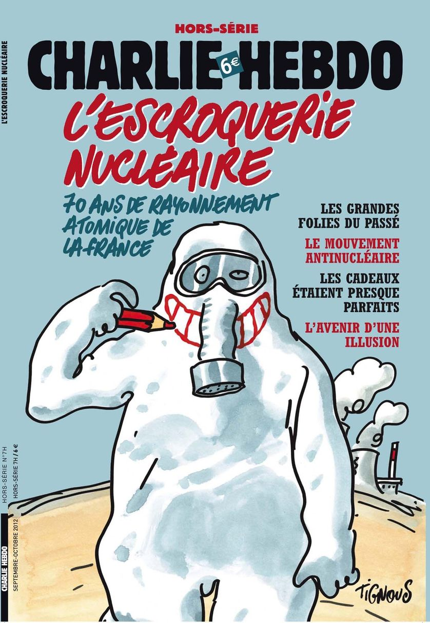 Visuel couv. Charlie Hebdo