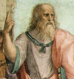 Platon - Détail de L'Ecole d'Athènes