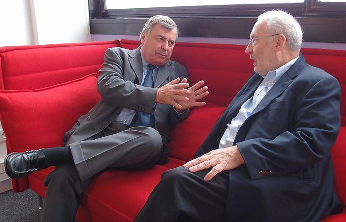François Bourguignon et Joseph Stiglitz