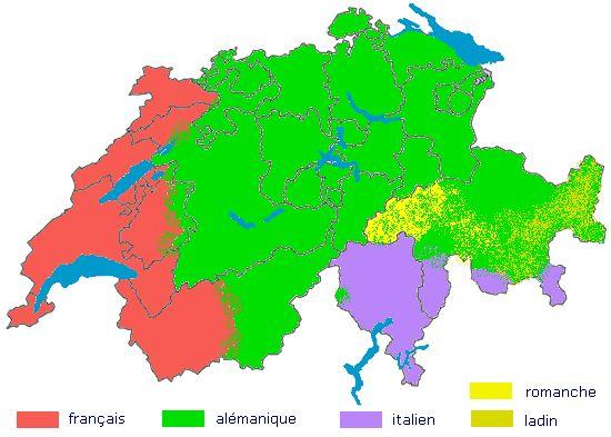 langues suisses