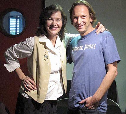 Louise Erdich et François Busnel