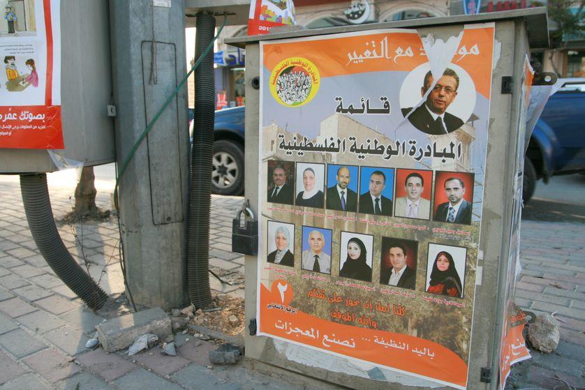 Elections dans les territoires palestiniens