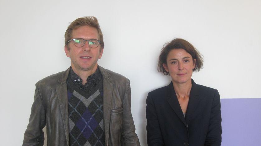 Yannick Grannec et Pierre Cassou-Noguès