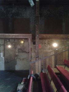 L'intérieur du théâtre-studio d'Alfortville