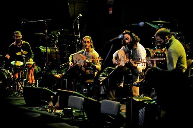 Trio Joubran et Yousef Zayed aux percussions