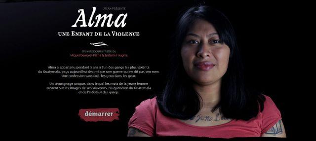Alma, unhe enfant de la violence