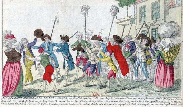 La Journée memorable de Versailles le lundi 5 octobre 1789