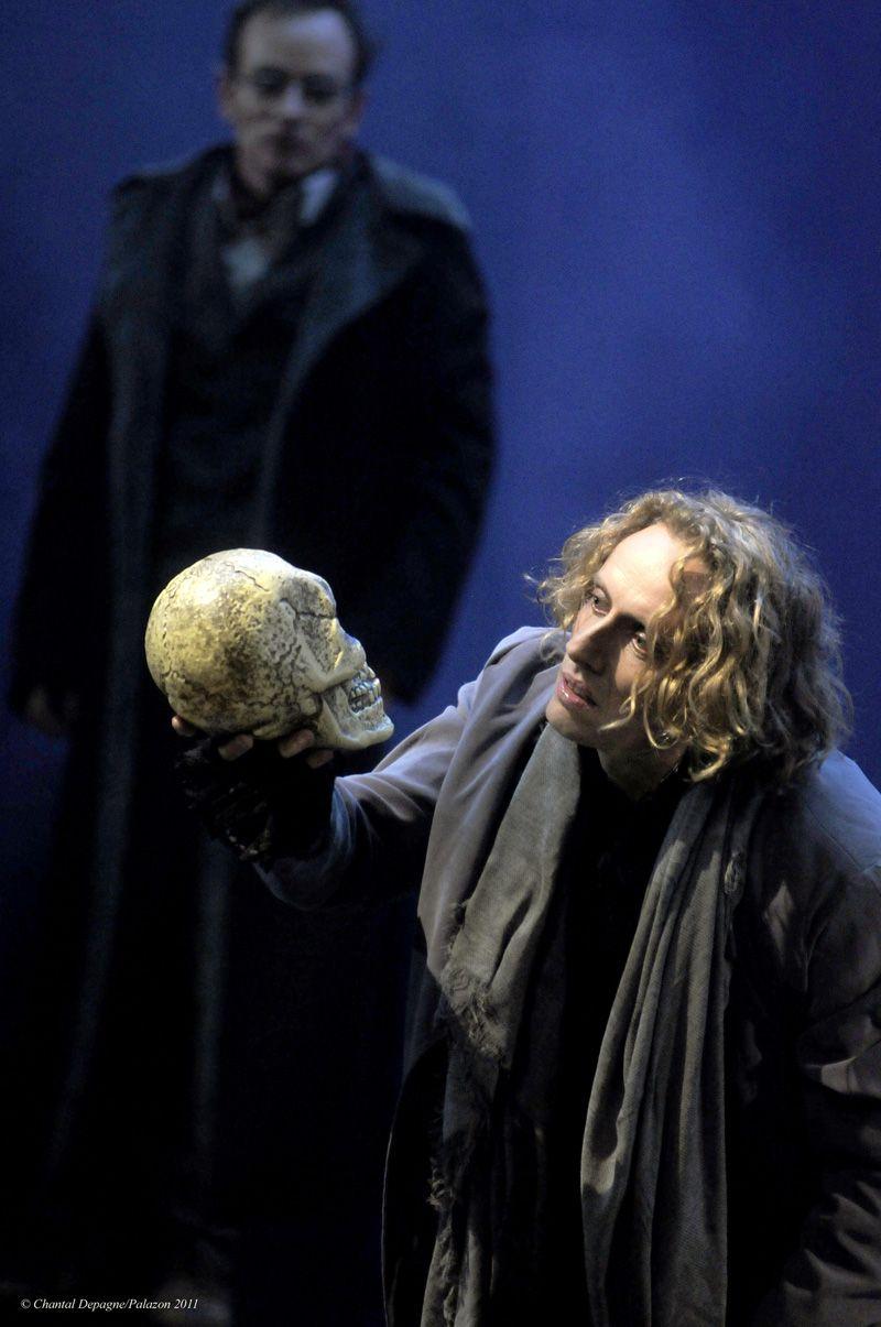 """William Mesguich dans """"Hamlet"""""""