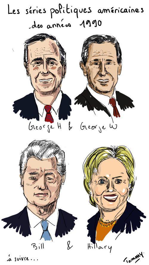 Les séries politiques américaines des années 1990