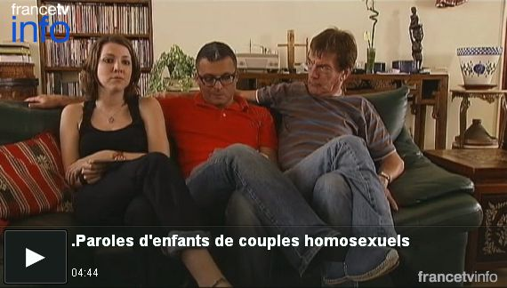 Paroles d'enfants de couples homosexuels