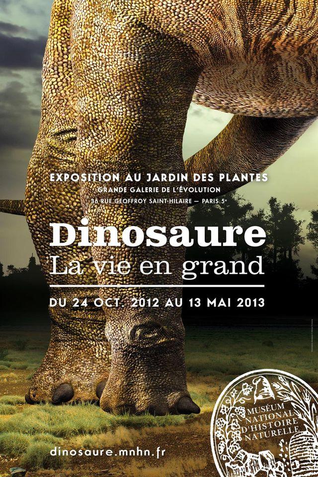 """Exposition """"Dinosaure: la vie en grand"""" au MNHN"""