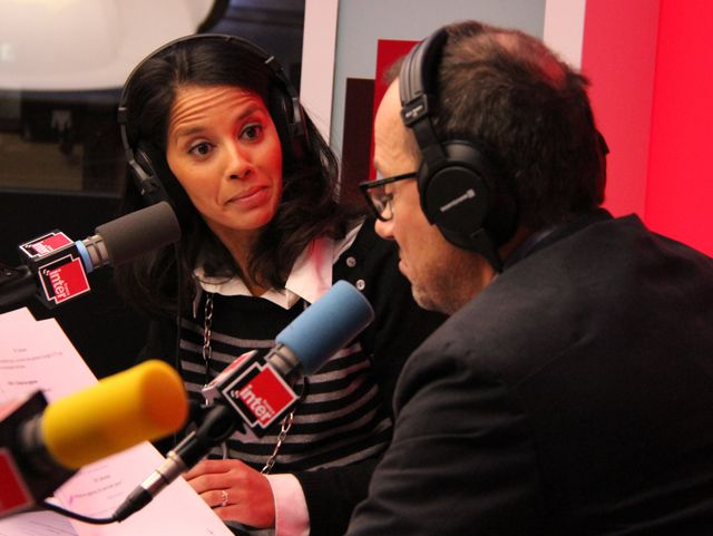Sophia Aram et Thomas Legrand