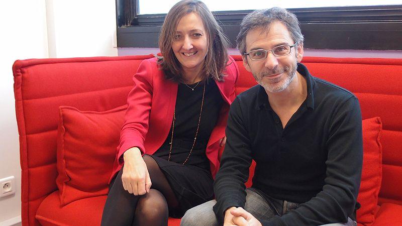 Karine Berger et Gilles Finchelstein