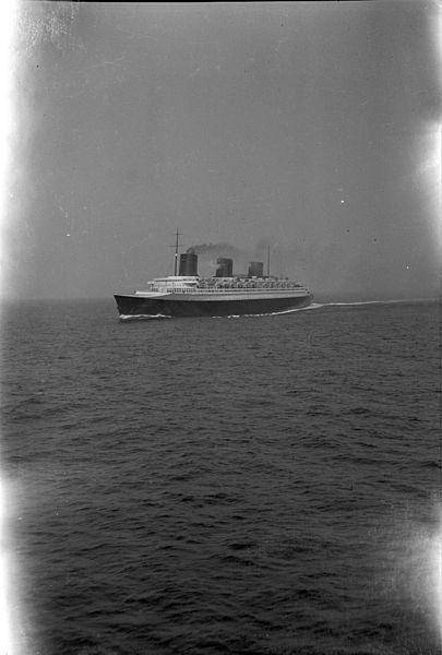 Le paquebot Normandie