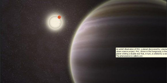 PH1 imaginé par un artiste, sur le site de la NASA