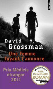 """""""Une femme fuyant l'annonce"""" de David Grosmann chez Points"""