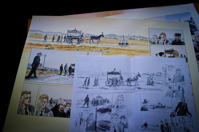 Jacques Ferrandez, dessins Camus