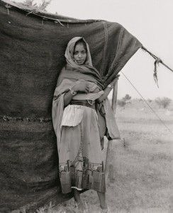 Mnaima Adjak / Tribu Shenabla / Nomade / Kordofan Nord / Aout 2001