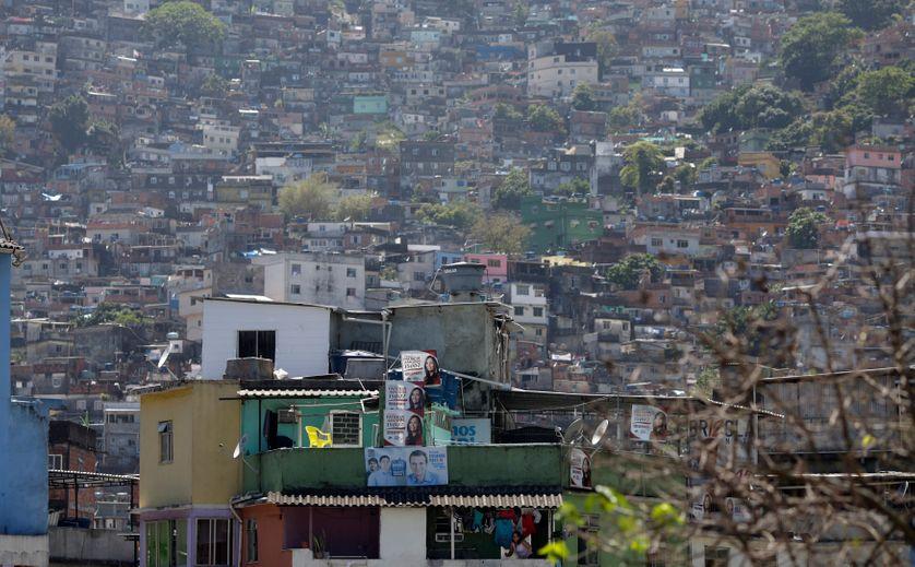 favela Rocinha à Rio de Janeiro