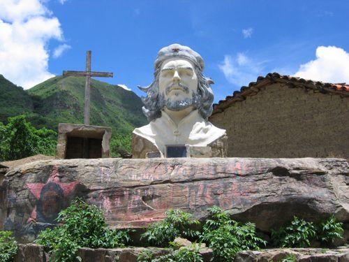 Statue de Che Guevara
