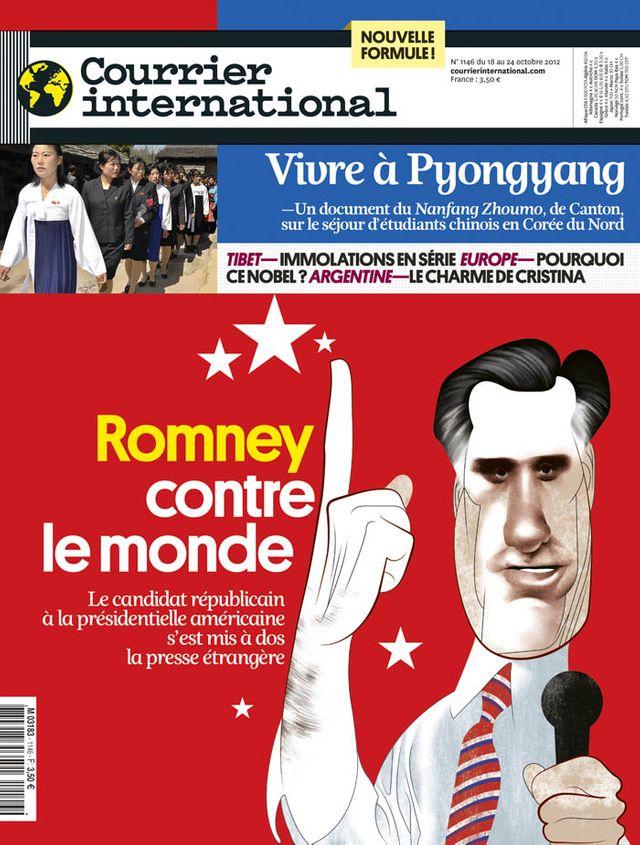 Courrier International du 18 au 24 octobre 2012