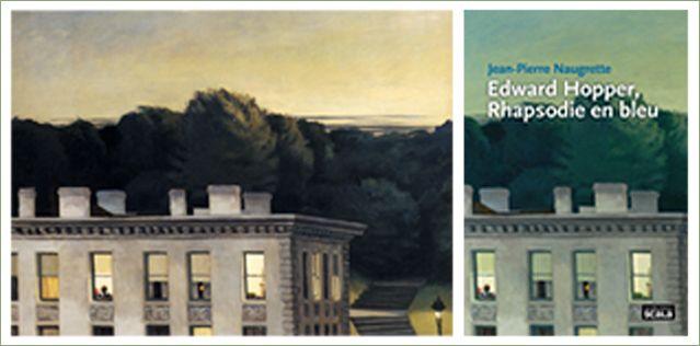 Edward Hopper  House at Dusk  1935 -Virginia Museum of Fine Arts, Richmond. John Barton Payne Fund et la couverture