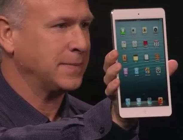 L'ipad mini a été présenté par Phil Schiller, le patron du marketing d'Apple