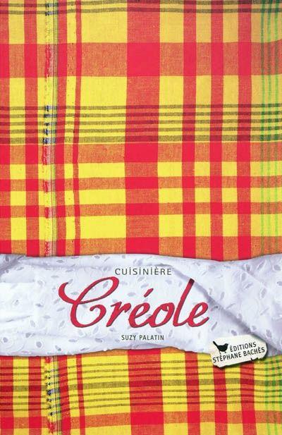 Livre cuisière créole