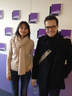 Nathalie Sonnac et Nicolas Demorand