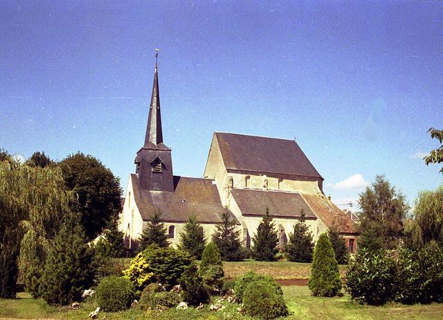 Chambon la Foret église