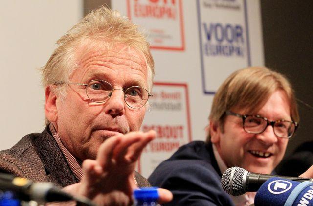 Daniel Cohn-Bendit et Guy Verhofstadt