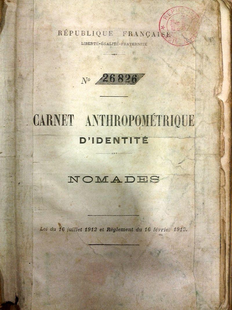carnet anthropometrique
