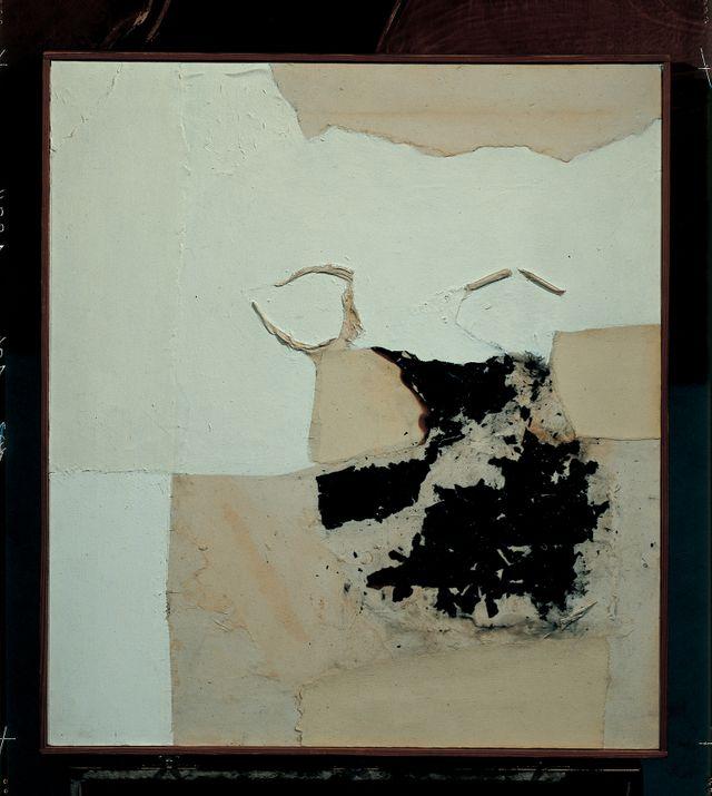 Burri, Combustione, 1960