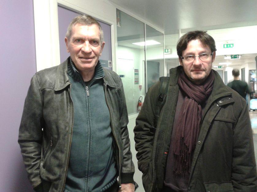 Jean Louis Ezine et Pierre Ballester