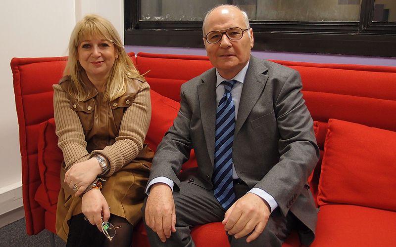 Martine Gozlan et Freddy Eytan