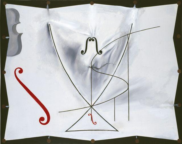 le violoncelle- Dali